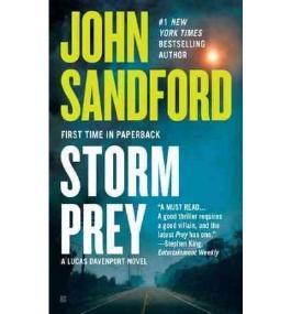 Storm Prey. Mordrausch, englische Ausgabe