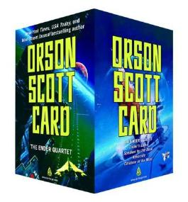 (The Ender Quartet Set: Ender's Game, Speaker for the Dead, Xenocide, Children of the Mind) By Orson Scott Card (Author) Paperback on (Nov , 2008)