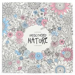 Malbuch für Erwachsene: Undiscovered Nature Entdecke die Natur