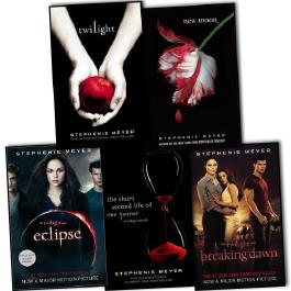 Stephenie Meyer, Twilight Saga Collection 5 Books: Twilight, New Moon, Eclips...