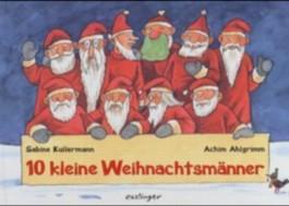 10 kleine Weihnachtsmänner