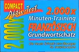 2000 × Minuten-Training Französisch Grundwortschatz