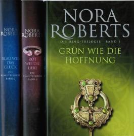 3 Bände Die Ring-Trilogie Ringtrilogie Grün wie die Hoffnung / Blau wie das Glück / Rot wie die Liebe komplett