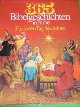 365 Bibelgeschichten in Farbe
