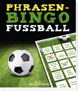 Phrasen-Bingo Fußball