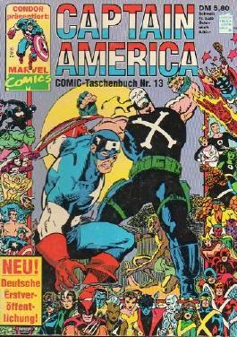 Captain America Taschenbuch # 13 (Captain America)