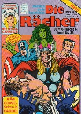 Die Rächer - Avengers - Taschenbuch # 35 (Die Rächer)