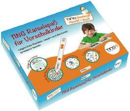 Ting Starter-Set Hörstift und Buch: Ting-Rätselspaß für Vorschulkinder