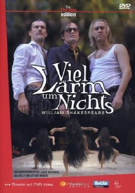W. Shakespeare: Viel Lärm um Nichts, Burgtheater Wien, 1 DVD