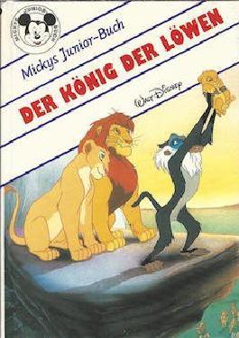 der könig der löwen - Mickys Junior-Buch Walt Disney Bilderbuch Horizontverlag