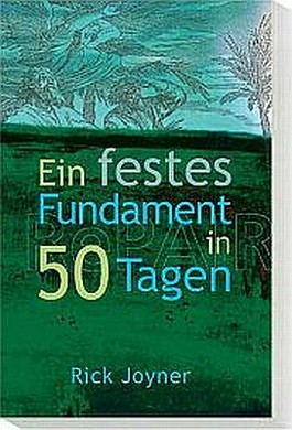 50 Tage für ein festes Fundament