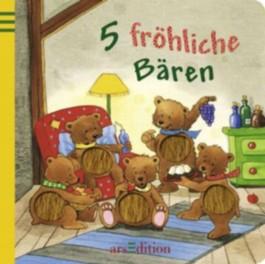 5 fröhliche Bären