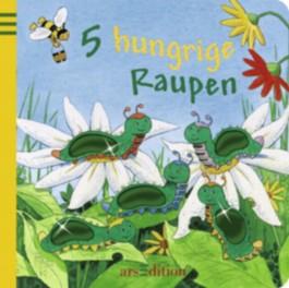 5 hungrige Raupen