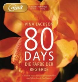 80 Days - Die Farbe der Begierde, 1 MP3-CD