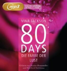 80 Days - Die Farbe der Lust, 1 MP3-CD