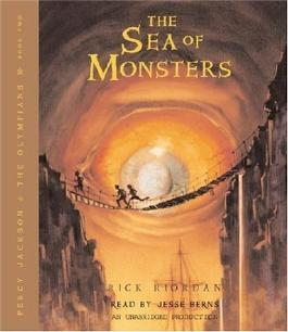 The Sea of Monsters (Percy Jackson and the Olympians, Book 2) Unabridged by Riordan, Rick (2006) Audio CD