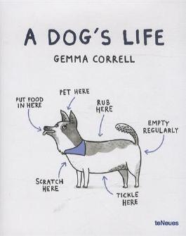 By Gemma Correll A Dog's Life (Mul) [Hardcover]