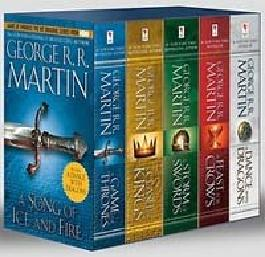 Game of Thrones: A Song of Ice and Fire 1-5 Boxed Set