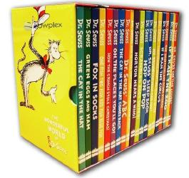 The Wonderful World of Dr. Seuss 20 Book Giftbox Set, Includes: The Cat in the Hat, Fox in Socks, Horton Hears a Who, Dr Seuss on the Loose, How The Grinch Stole Christmas, The Cat in the Hat Comes Back, If I Ran The Zoo .... [Box Set]