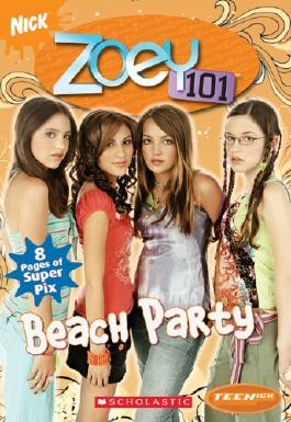 Title: Teenick Zoey 101 Chapter Book 4 Beach Party