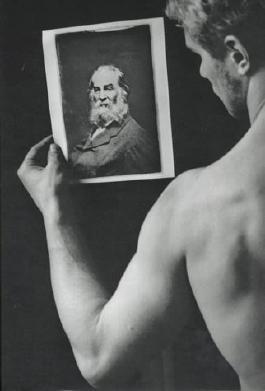 Michals Duane: Salutes Walt Whitman