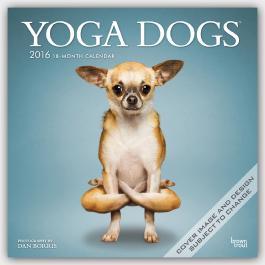 Yoga Dogs 2016 - Joga-Hunde - 18-Monatskalender