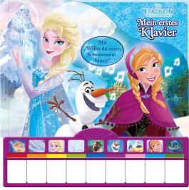 Die Eiskönigin, Mein erstes Klavier - Disney Pappbilderbuch zum Film mit Klaviertastatur und Konzertflügel