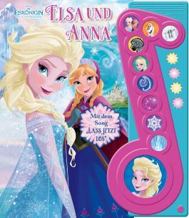 Die Eiskönigin Elsa und Anna