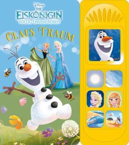 Die Eiskönigin, Olafs Traum - Soundbuch - Disney Pappbilderbuch mit 7 Geräuschen