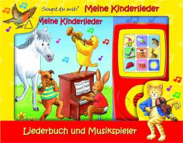 Meine Kinderlieder - Liederbuch und Musikspieler - Pappbilderbuch