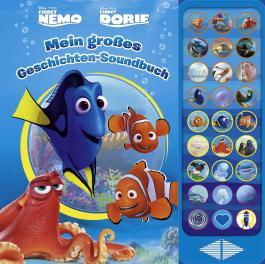 Disney Nemo/Dorie: Mein großes Geschichten-Soundbuch - 27 Button Soundbuch