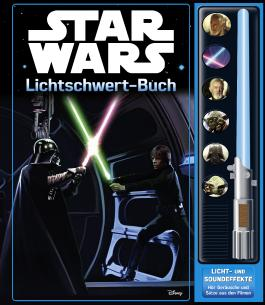 Star Wars Lichtschwert-Buch - Soundbuch mit 7 Geräuschen