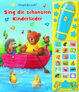 Karaokebuch - Die schönsten Kinderlieder - Liederbuch mit 18 Melodien, 2 Geräuschen