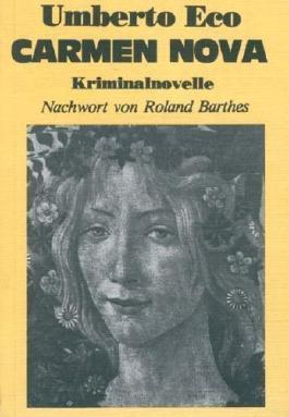 Carmen Nova. Kriminalnovelle