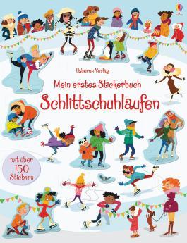 Mein erstes Stickerbuch: Schlittschuhlaufen