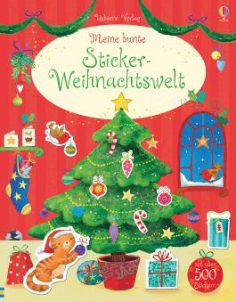 Meine bunte Sticker-Weihnachtswelt