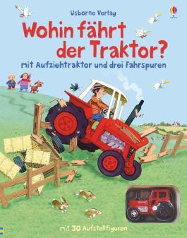 wohin fahrst du kleiner traktor