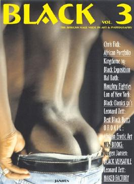 Black: The African Male Nude in Art & Photography, Vol. 3