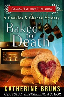 Baked to Death (Cookies & Chance Mysteries Book 2)