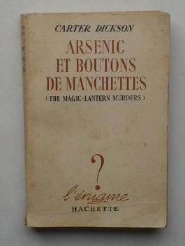 Arsenic et boutons de manchette