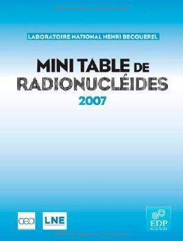 mini-table des radionucleides