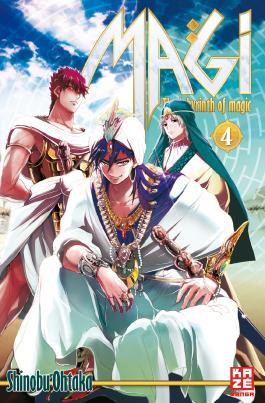 Magi - The Labyrinth of Magic 04