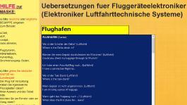 Wörterbuch der Luftfahrt, Mechatronik, Automobiltechnik