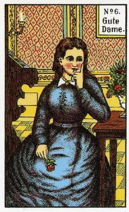 Original Kipper Wahrsagekarten, Kipperkarten