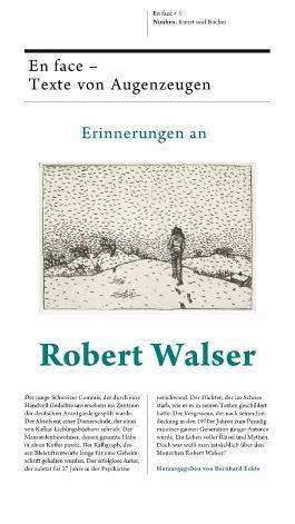 Erinnerungen an Robert Walser