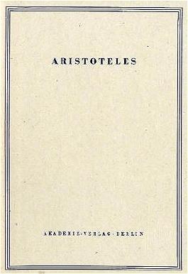 Aristoteles - Werke in deutscher Übersetzung / Magna Moralia