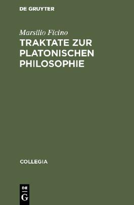 Traktate zur platonischen Philosophie