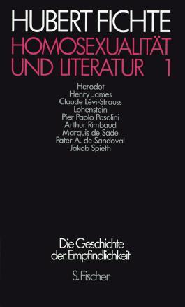 Homosexualität und Literatur 1