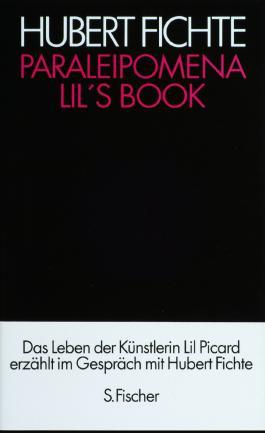 Die Geschichte der Empfindlichkeit / Paraleipomena / Lil's Book