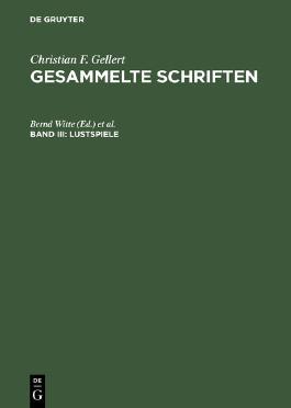 Das Band / Sylvia / Die Betschwester / Das Loos in der Lotterie / Die zärtlichen Schwestern / Die kranke Frau / Das Orakel